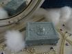 Boîte coffret Écrin, design shabby, boîte à bijoux, boîte vintage, boîte déco, vide poche, objet déco, déco chambres d'hôtes, idée cadeau