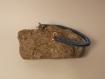 Bracelet rond en cuivre fait main.