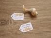 10 étiquettes moustache - mariage, baptême, anniversaire,... - a personnaliser