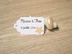 10 grandes étiquettes etoile - mariage, baptême, anniversaire,... - a personnaliser