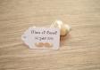 10 grandes étiquettes moustache - mariage, baptême, anniversaire,... - a personnaliser
