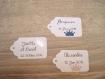10 grandes étiquettes couronne - mariage, baptême, anniversaire,... - a personnaliser