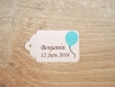 10 grandes étiquettes ballon - mariage, baptême, anniversaire,... - a personnaliser