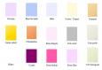 10 étiquettes etoile vierge couleur au choix - emballage cadeau ou occasion particulière
