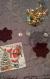 Etoile décorative au tricot