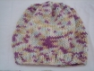 Bonnet + echarpe bebe en laine extra fine merinos, soie et cashmire