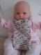 Echarpe bébé laine mérinos extra fine, soie et cashmere