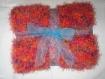 Couverture bébé enfant landau poussette cadeau naissance baptème plaid canapé sofa divan décoration dessus de lit