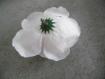 Lot de 2 jolies fleurs blanches artificielles