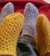 Socquettes colorées
