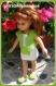 Tenue estivale pour poupée