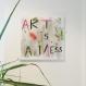 Tableau abstrait art is a mess