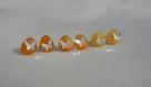 Boucles d'oreilles ambre, pierre naturelle, pierre fine, ambre véritable de la baltique, argent massif 925