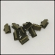 Embouts griffes bronze 10 mm (x10)