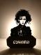 Lampe edward aux mains d'argent artisanale