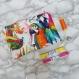 Pochette colorée