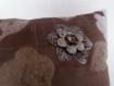 Coussin-bijoux patchwork 40x40 modèle osyris