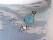 Coussin-bijoux-boutons patchwork 30x30 modèle paeonia officinalis