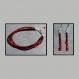 Ensemble bracelet et boucles d'oreilles