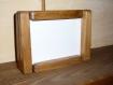 Kit cadre photo modulable 10x15 bois chalet montagne/campagne