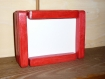 Kit cadre photo modulable 10x15 bois rouge