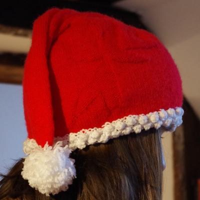 Bonnet rouge de noël