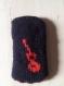 Pochette téléphone tricotée, réversible et personnalisable avec un motif au choix