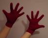 Gants tricotés à la main sur demande