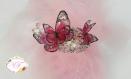 Bracelet papillons roses