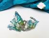 Bracelet papillons bleus