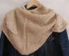 Châle chale tricote main