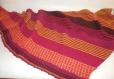 Châle tricoté à la main chale