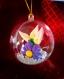 Suspension de noël fleur