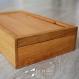 Petit coffret en bois recyclé - chêne & hêtre