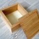 Petit coffret en bois recyclé - chêne & contre-plaqué