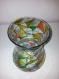 Vase en verre forme géométrique