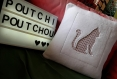 Coussin chat -
