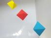 Mobile des octaèdres - mobile montessori avec des matériaux respectueux de bébé et de l'environnement