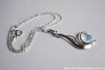Collier argent 925  avec cristal swarovski®