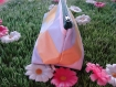 Trousse triangulaire écossais fleuri.