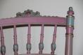 Chaise rétro relookée