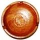 Cendrier en bois de palissandre de madagascar