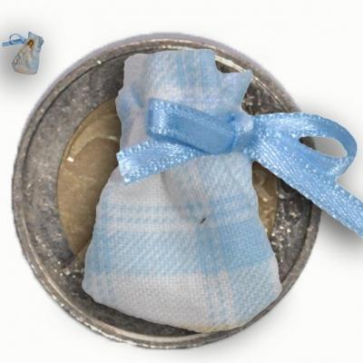 Dent de taupe remède mal de dent bébé poussée modèle bleu carreau