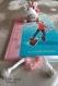 Marque pages licorne au crochet