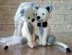 Chats mariés au crochet