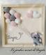 Tableau personnalisable éléphant  au crochet