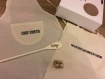 Box petit cuisto - tablier sac et ustensiles personnalisés
