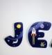 Lettres pour prénom enfant thème de l'espace
