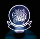 Lampe tactile led pirate personnalisable