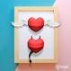 Projet diy papercraft: pack saint valentin